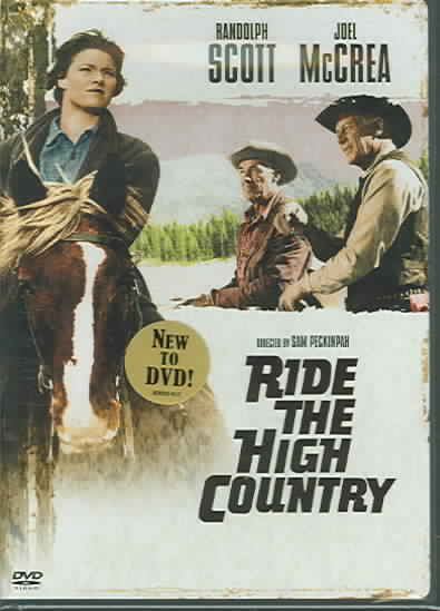 RIDE THE HIGH COUNTRY BY SCOTT,RANDOLPH (DVD)
