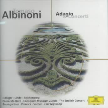 ALBINONI:ADAGIO & CONCERTI BY HOLLIGER,HEINZ/LIND (CD)